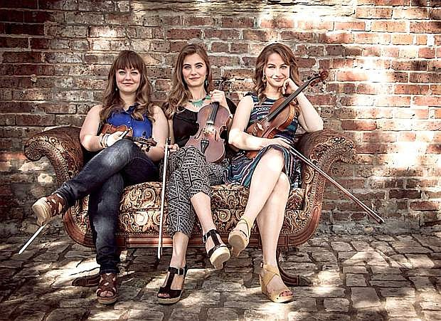 The Quebe Sisters ring in the holiday cheer in Fallon with a performance on Dec. 2.