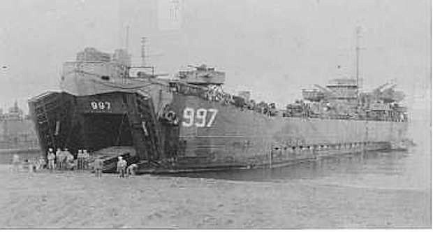 LST 997 was one of several hundreds ships that transported equipment and supplies to the various islands in the western Pacific Ocean.