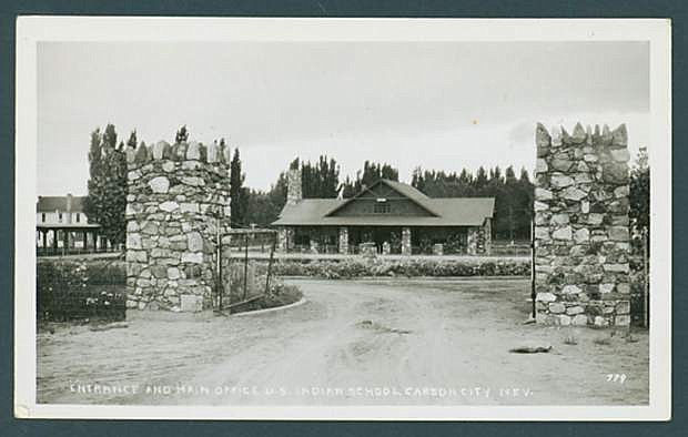 Stewart Indian School postcard