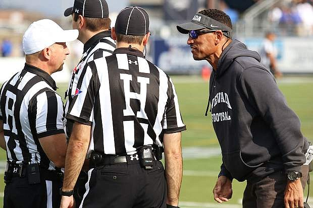 Jay Norvell will get his first taste of the Nevada-UNLV rivalry.