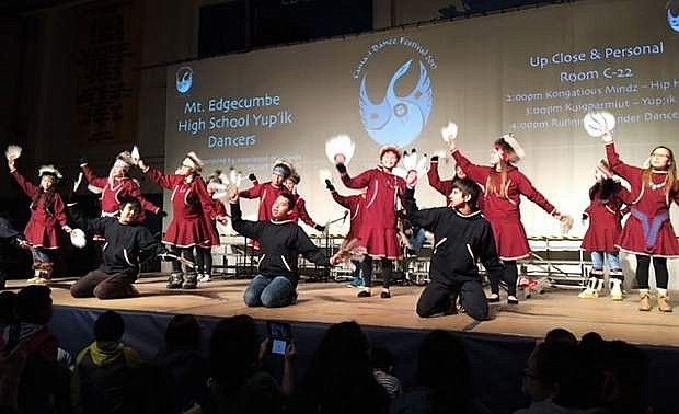 The Yupik Dancers will perform at the American Indian Achievement Awards.