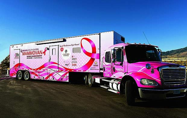 The Mammovan will be in Carson City on Friday.
