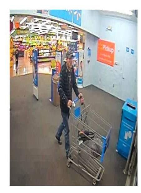A subject is wanted in a credit card fraud case.
