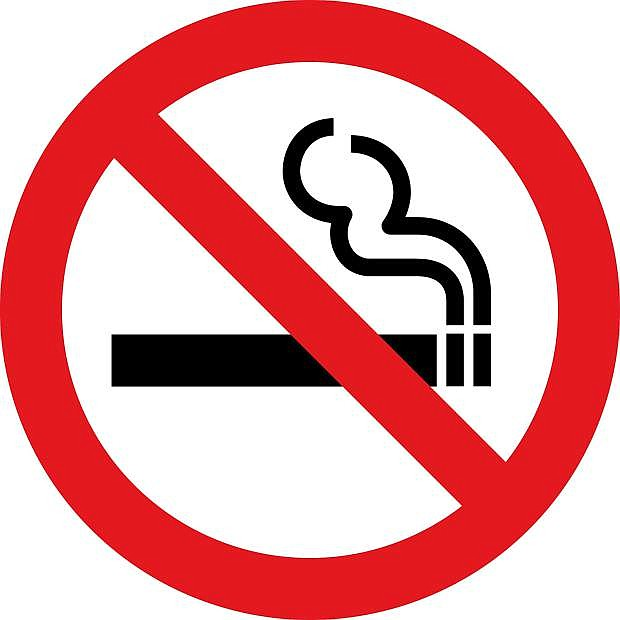 No smoking allowed sign