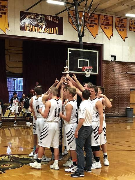 Sierra Lutheran placed third inthe small school division of the Rail City Classic at Sparks High.