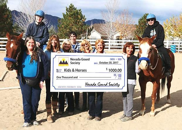 The Nevada Gourd Society raised money for local charities during its first annual festival in September.