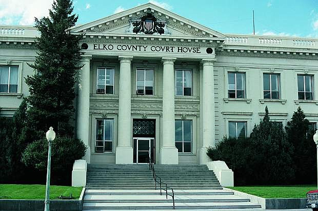 The majestic Elko County Courthouse, built in 1911, is one of the many historic structures found in the eastern Nevada community of Elko.