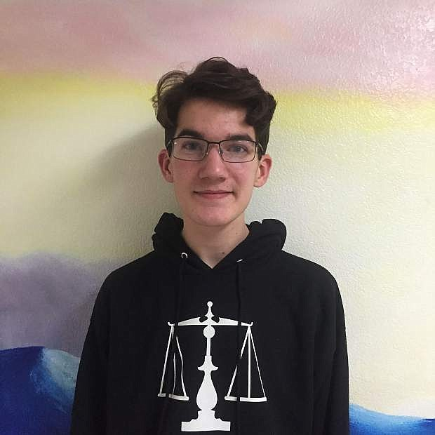 CHS Student of the Week Nathan Wetzel