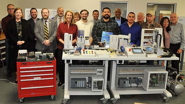 NSHE, WNC and Nevada manufacturing leaders recognize Siemens certification recipients: Nevada manufacturing and industry leaders joined WNC and NSHE officials in honoring students who earned Siemens Mechatronic Level 1 training certification during a ceremony last month at the Carson City campus.