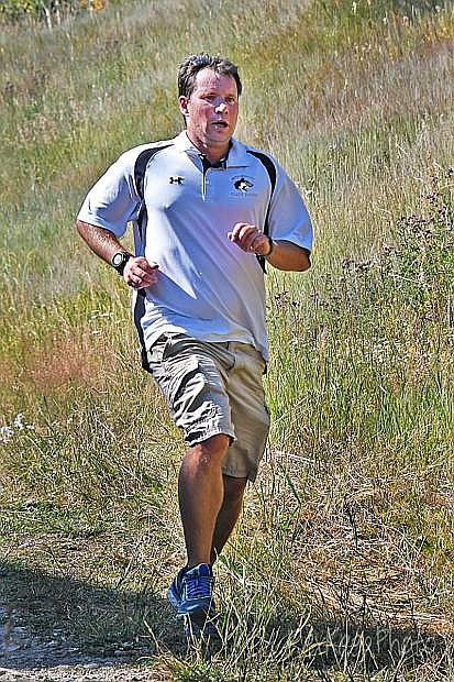 Battle Mountain's Rob Parish is the 4A Coach of the Year for cross-country, according to chsaanow.com.