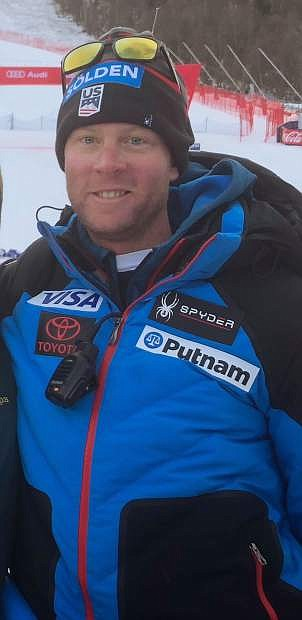 Carson City's Mats Boehnke is an assistant coach with the US Women's Ski team as the Americans prepare for the Winter Olympics in South Korea.