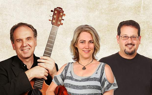 Kyle Alden, Valerie Rose and Jason Pollack are bringing their repertoire of Celtic music to Carson City on Saturday.