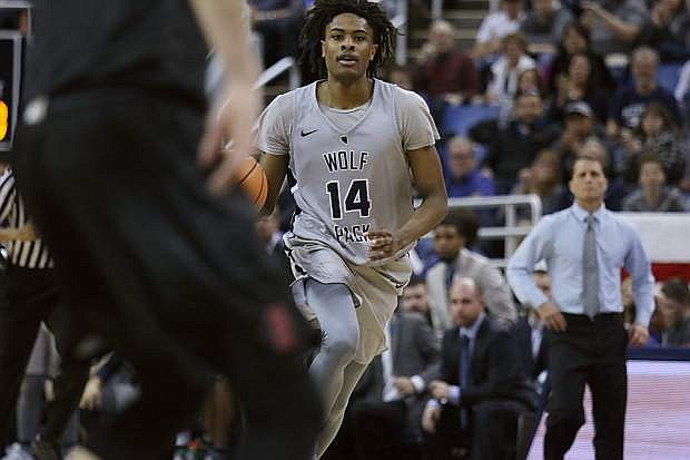 Nevada guard Lindsey Drew was lost for the season Wednesday after suffering an Achilles tendon injury at Boise State.