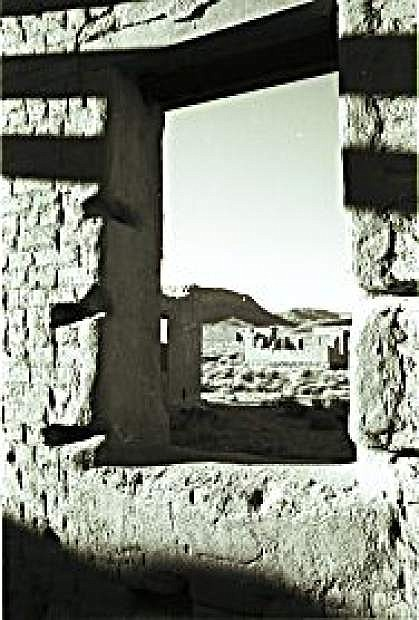 The ruins at Fort Churchill Historic Park near Fallon are a popular destination for photographers.