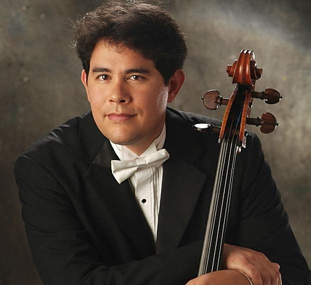 Cellist Stephen Framil will lead an artist-in-residence workshop and master class at Carson High School on Feb. 22.