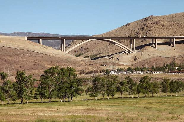 The Galena Bridge is shown. Nevada's bridges ranked as the nation's best.
