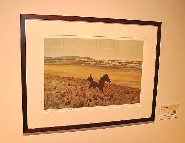 Honest Horses: A Portrait of the Mustang in the Great Basin is part of the Nevada Touring Initiative-Traveling Exhibition Program and is showing at Western Nevada College in Carson City until April 13.