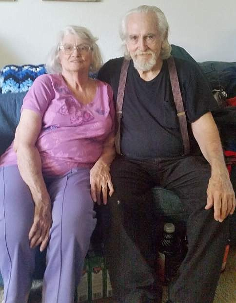 Carson City residents Joe and Sheila Covington have been Meals on Wheels clients for more than five years.
