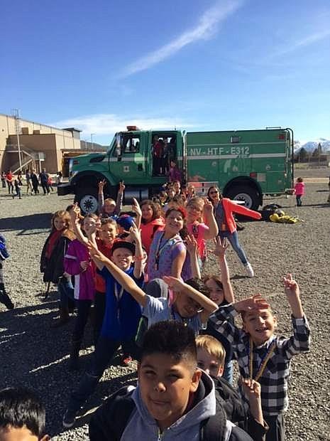 Boys & Girls Club of Western Nevada members enjoying Hero Day during the 2017 National Boys & Girls Club Week. The 2018 National Boys & Girls Club Week is April 9-13.