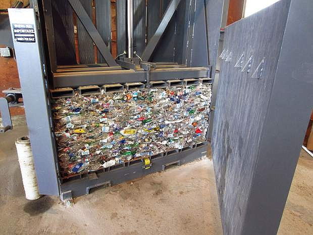 The U.S. discards more than 30 million tons of plastic each year, but only eight percent of this waste gets recycled. The rest, nearly 27,600,000 tons, ends up in landfills, is burned, or litters the environment. The Nevada Recycles program is striving to achieve a 25 percent recycling rate statewide.