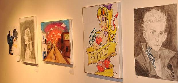 The WNC Student Art Show will be shown through May 12 in the Bristlecone Building on the Carson City campus.