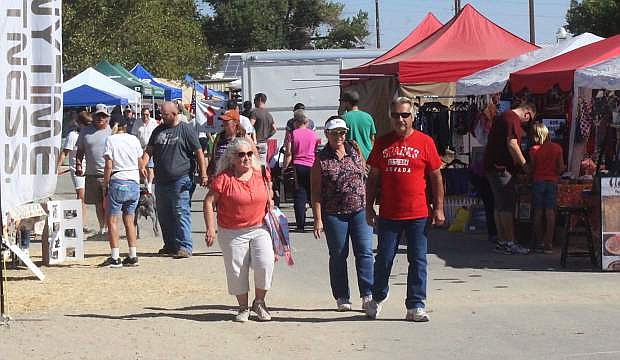 County commissioners learned Thursday attendance at the 2017 Fallon Cantaloupe Festival increased.