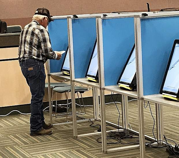 Churchill County residents will have another week to cast ballots during the early election period.