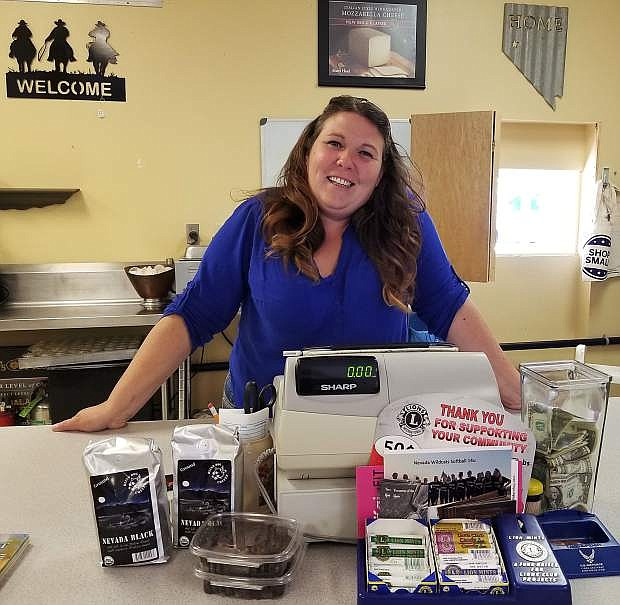 Cori Nowalk, owner of Running Iron Cafe, created her own recipes for the restaurant's menu.