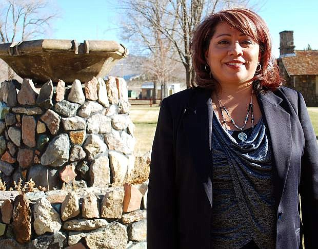 Sherry Rupert is the executive director of the Nevada Indian Commission, which oversees Stewart Indian School.