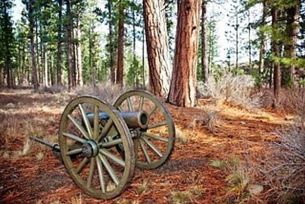 The original Fremont Cannon was an M1835 Cyrus Alger mountain howitzer.