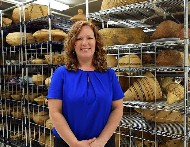 Anna Camp is the Curator of Cultural Collections at the Nevada State Museum in Carson City.