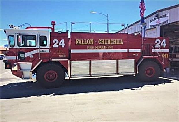 An advanced Type I structure fire engine will soon be staffed and equipped for structure firefighting in Churchill County. The Nevada Division of Forestry gifted the engine to the Fallon/Churchill Fire Department.