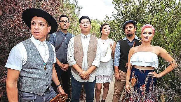 The musical group Las Cafeteras will play in Fallon on Sept. 22.