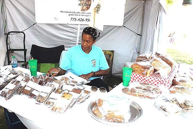 Tracy Lambson and her mother (Ethel Coleman, not pictured) of Fallon have been longtime vendors at many events.