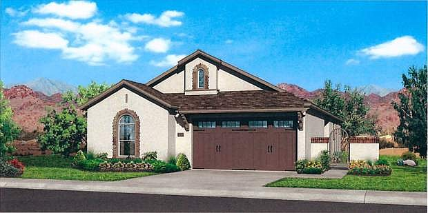 One of several single-family home models included in the application for the Lompa Ranch East planned unit development.