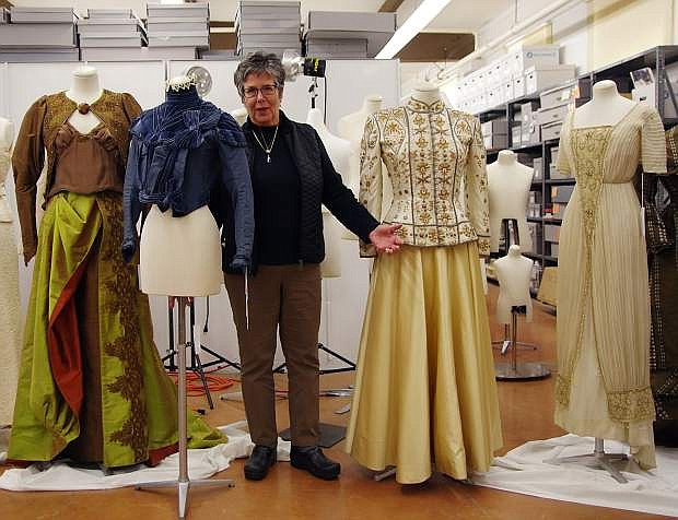 Jan Loverin is curator of clothing and textiles at the Marjorie Russell Clothing and Textile Research Center. Photo courtesy of Nevada State Museum