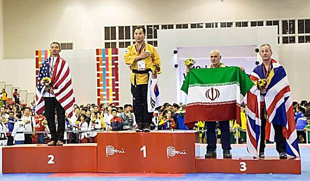 Chi Duong took second at the World Championships in 2016.