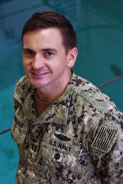 Lt. Cmdr. Andrew Stephenson