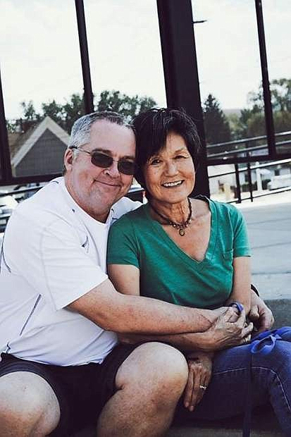Brian Reedy and his wife, Lily