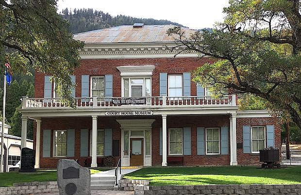 The Genoa Courthouse Museum is one of the oldest town's attractions.