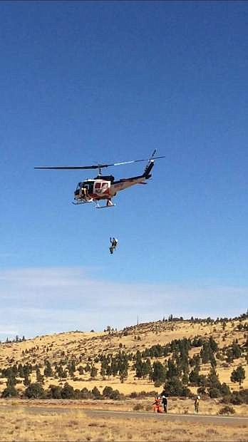 The Nevada Division of Forestry is testing a new rescue system.
