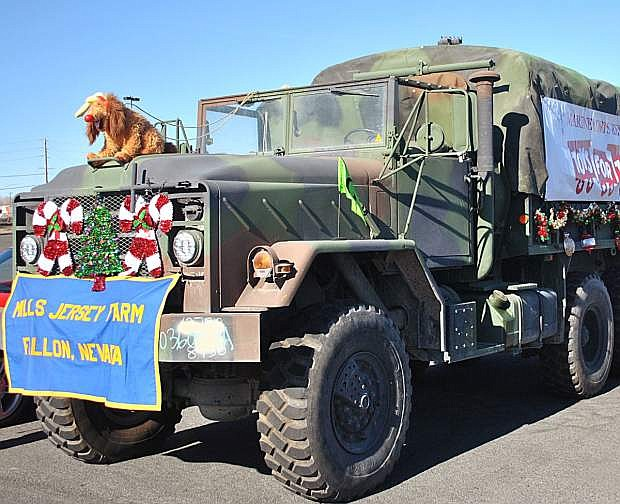 Local Marines and other volunteers will be collecting toys for three days this week and three next week.