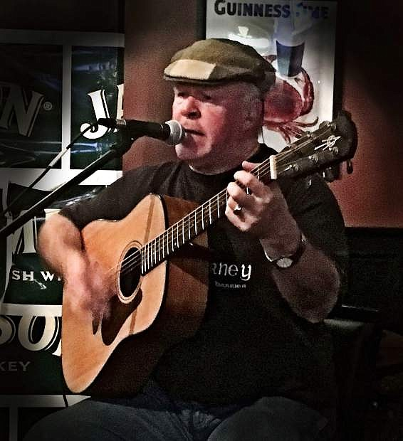Blarney Man Keith Shannon comes to the Brewery Arts Center on Saturday.