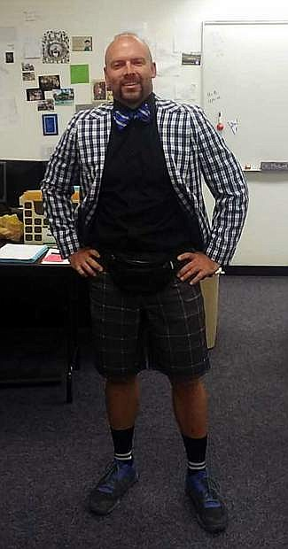 CHS Dress for Success nominee physical education teacher Jared Hagar