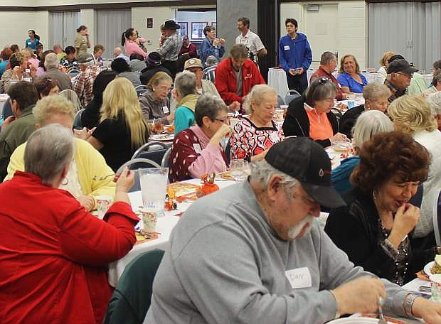 Every year the Christian Life Center serves hundreds of people at their annual Thanksgiving meal.