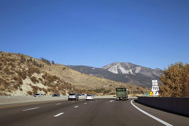 North U.S. 395/I-580 in Carson City at Eastlake Boulevard Exit.