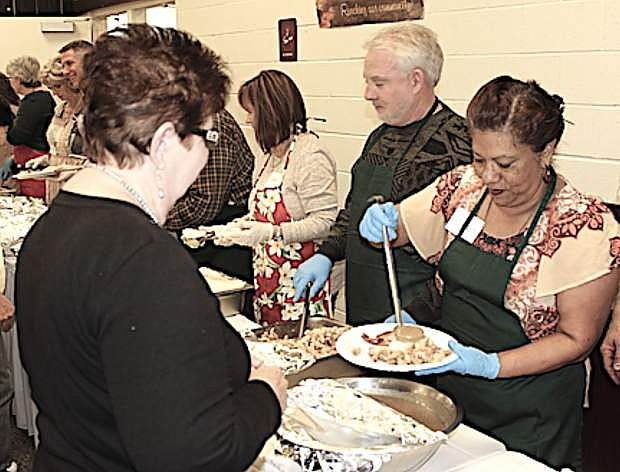 The Christian Life Center invited the community for its annual Thanksgiving meal on Sunday.