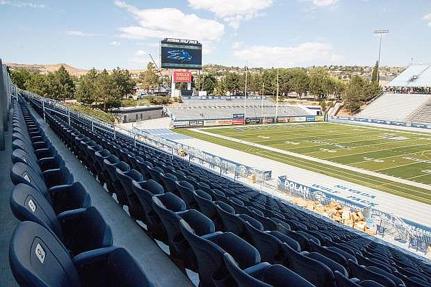 Maybe the Nevada basketball team can sell out Mackay Stadium.