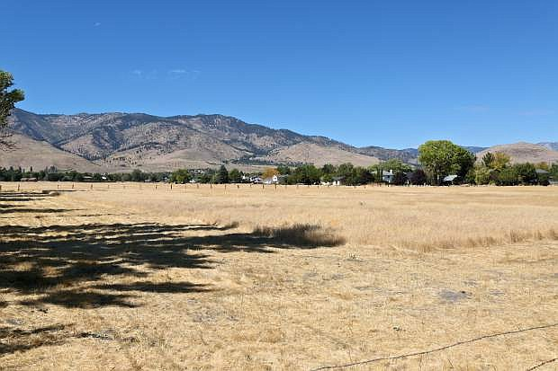 A view from the east of the parcel that's part of the proposed Vintage project.