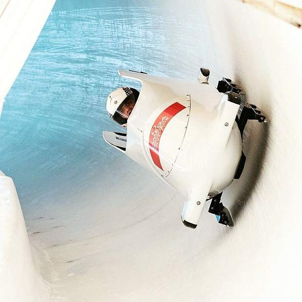 Steven Jacobo is a parabobsled competitor.